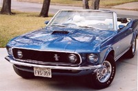 Highlight for Album: Bill Jansa's 1969 Mustang GT Convertible.