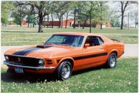 Highlight for Album: David charlier's 1970 Sidewinder Mustang.